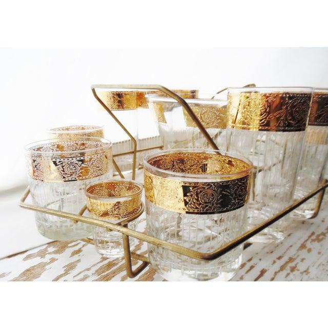 Mid-Century Modern Culver Mid-Century 1950s Tyrol Barware Set For Sale - Image 3 of 11