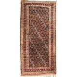 "Image of Antique Persian Qashqai Rug - 4'7"" X 6'4"" For Sale"