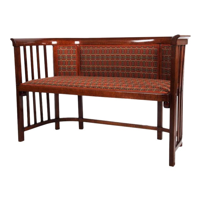 Antique Bentwood Seat by Josef Hoffmann for Thonet For Sale