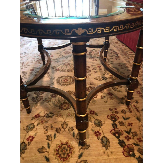 Francesco Molon Coffee Table by Gimme Furniture Co. Finely Inlaid For Sale In New York - Image 6 of 11