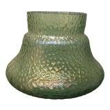 Image of Kralik Sohn Martelle Pattern Art Glass Vase For Sale