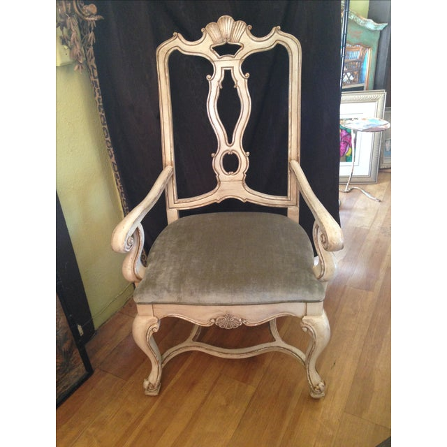 Carved Italian Armchairs - A Pair - Image 7 of 9