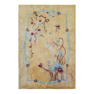 "Eli Peer Art Deco Carpet Chinese Carpet - 5'10"" X 8'10"""