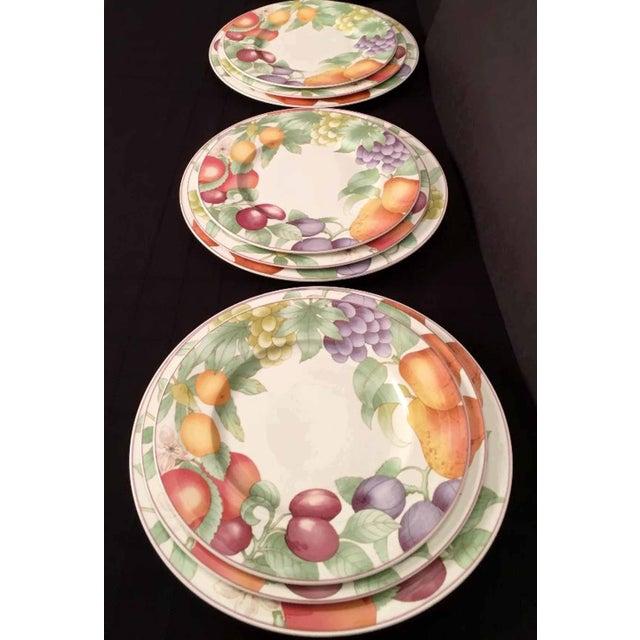 Villeroy & Boch Villeroy & Boch, Gallo Design, Frutteto, Chop/Charger Plates - Set of 5 For Sale - Image 4 of 13