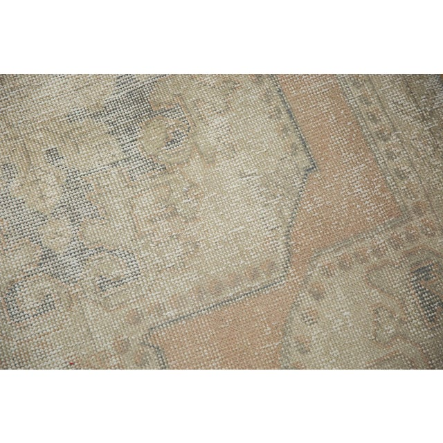 """Old New House Vintage Distressed Oushak Rug - 4'4"""" X 6'9"""" For Sale - Image 4 of 10"""