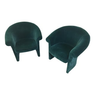 Vintage Club Lounge Chairs - a Pair