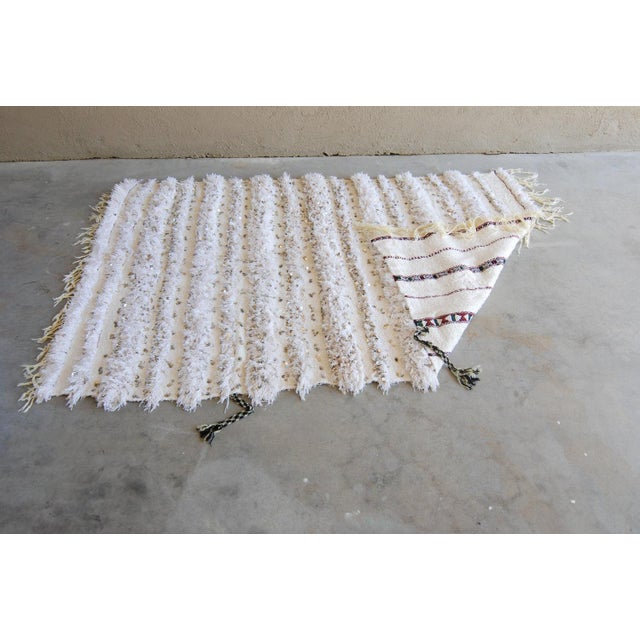Vintage Moroccan Blanket Throw - Image 6 of 9