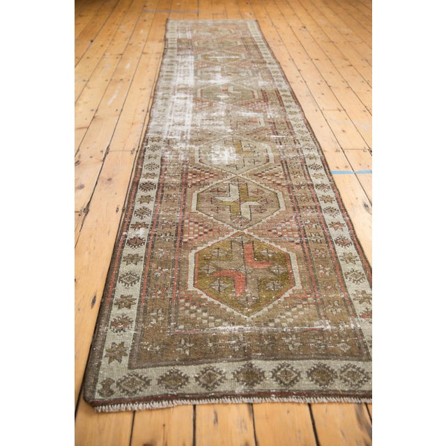 """Vintage Distressed Caucasian Rug Runner - 2'9"""" X 11'1"""" For Sale - Image 9 of 13"""