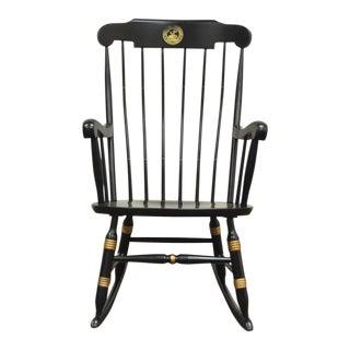 Vintage Sigill College University Nichols & Stone Windsor Rocking Chair For Sale
