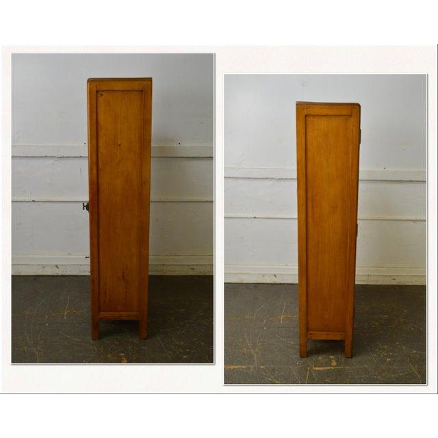 *STORE ITEM #: 18199-fwmr Country Antique 19th Century Poplar & Pine Chimney Cupboard from Lehigh Valley AGE / ORIGIN:...