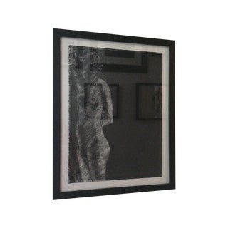 Matt Alston Charcoal Drawing - Nude 6 For Sale