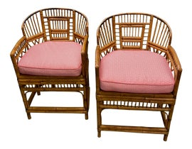 Image of Hollywood Regency Side Chairs
