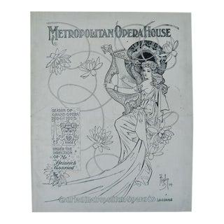 Metropolitan Opera House Season of Grand Opera 1904 - 1905 For Sale