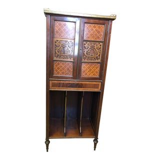 19th Century French Music Cabinet For Sale
