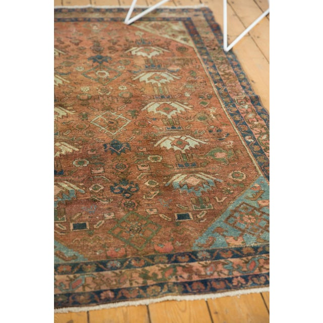 """1930s Vintage Distressed Malayer Rug - 4' X 6'1"""" For Sale - Image 5 of 13"""