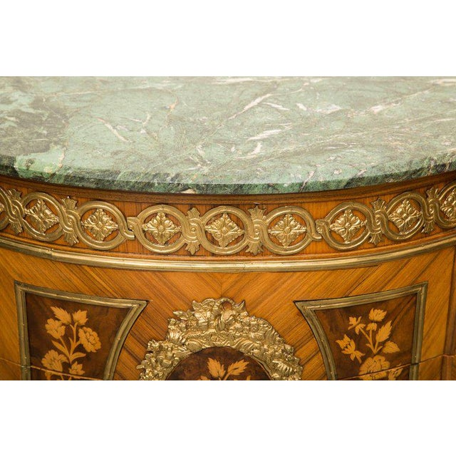 Louis XVI Transitional Style Inlaid Commode For Sale In West Palm - Image 6 of 9