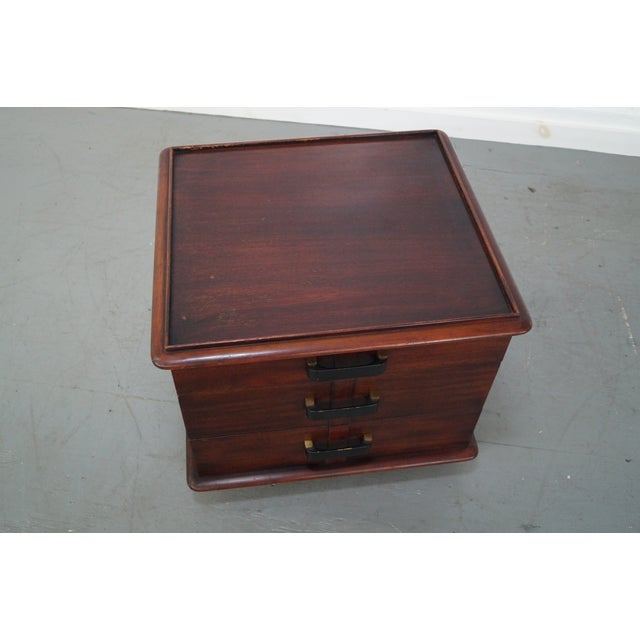 Paul Frankl Johnson Furniture Mahogany Station Wagon Nightstands- A Pair - Image 10 of 10
