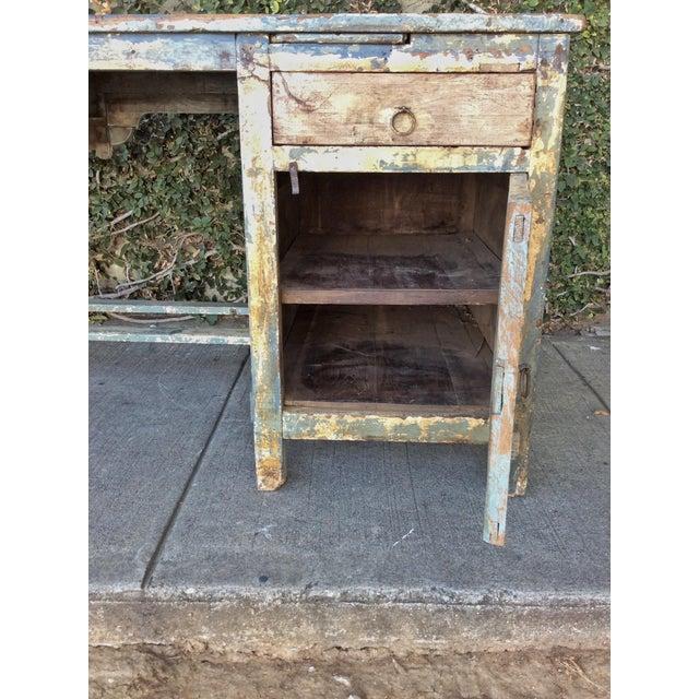 Vintage Shabby Chic Desk For Sale - Image 10 of 10
