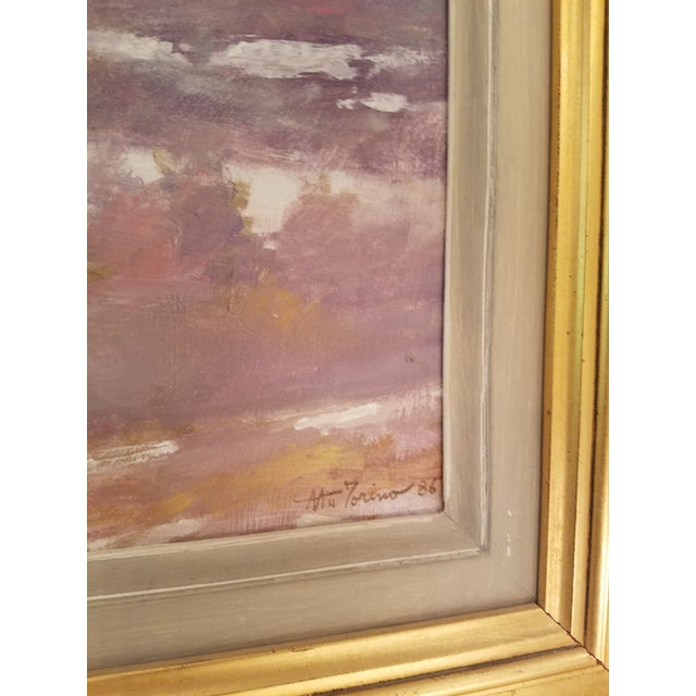 Tony Autorino Bucks County Impressionist Oil Painting - Image 3 of 6