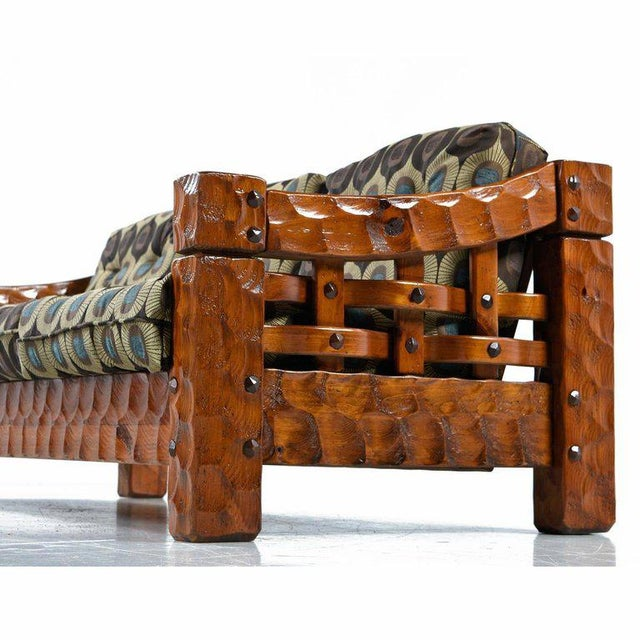 Tremendous Solid Pine Rustic Log Cabin Sofa By Null Gamerscity Chair Design For Home Gamerscityorg