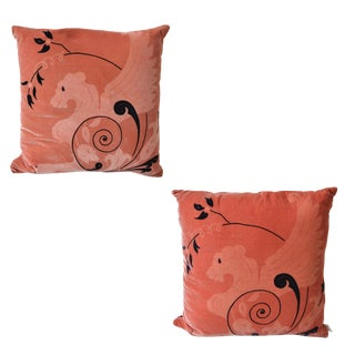 Designer Decorative Pillow Sphinx Design, Pair For Sale