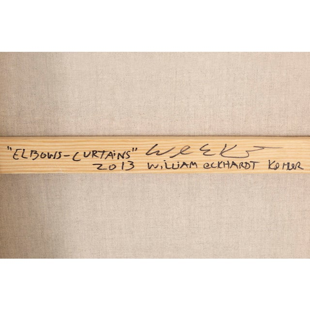 "William Eckhardt Kohler, ""Elbows - Curtains"" For Sale In Chicago - Image 6 of 7"