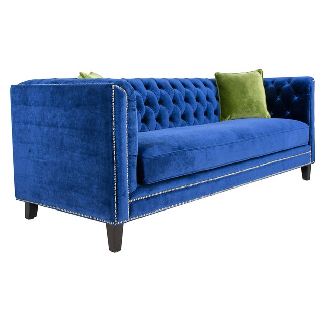 Meet Pasargad's Victoria Collection. Covered in soft tufted velvet, these elegant pieces of home furniture are crafted...