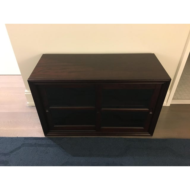 Pottery Barn Wooden 2-Door Cabinet With TV Stand - Image 3 of 6