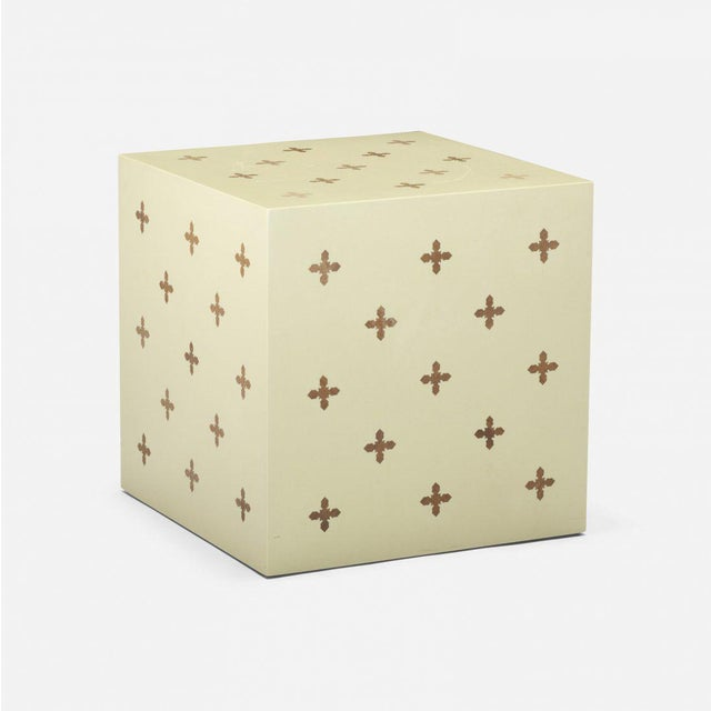 Edward Wormley Edward Wormley for Dunbar Parquetry Cube For Sale - Image 4 of 4