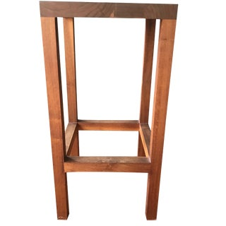 Modern Rustic Style End Table For Sale