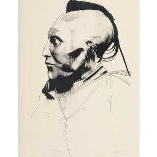 "Leonard Baskin ""White Horse"" Lithograph on Paper, 1972 For Sale"