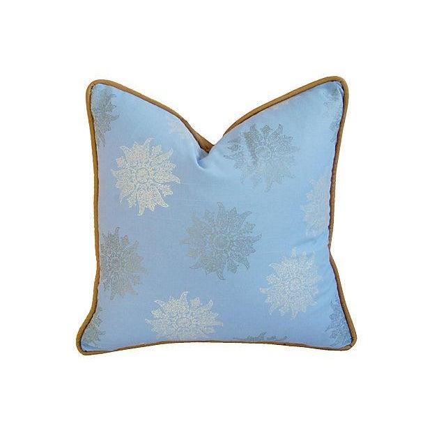 Designer Iman Lamu Twilight Aegean Pillows - Pair - Image 3 of 7