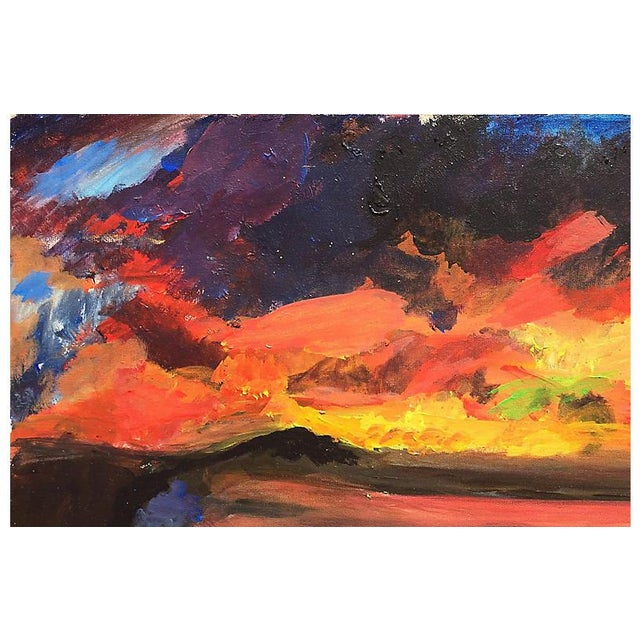 1980s Connemara Dawn by Carol Costello For Sale - Image 5 of 8