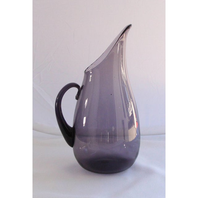 Blenko Amethyst Glass Pitcher - Image 2 of 4