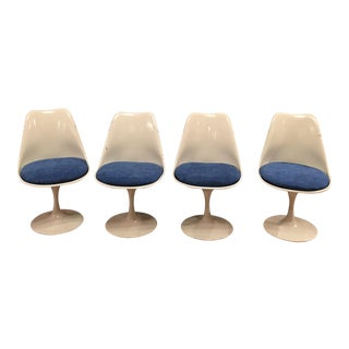 Swivel Tulip Chairs by Eero Saarinen Knoll - Set of 4