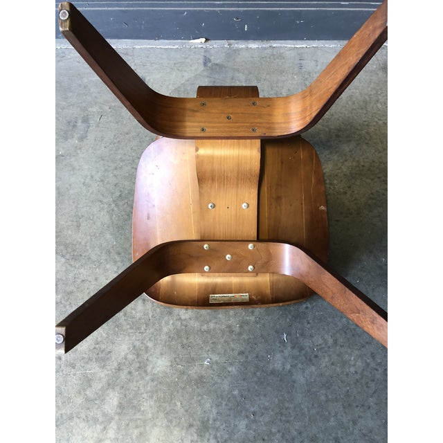 Wood Eames for Herman Miller Occasional Chair For Sale - Image 7 of 11