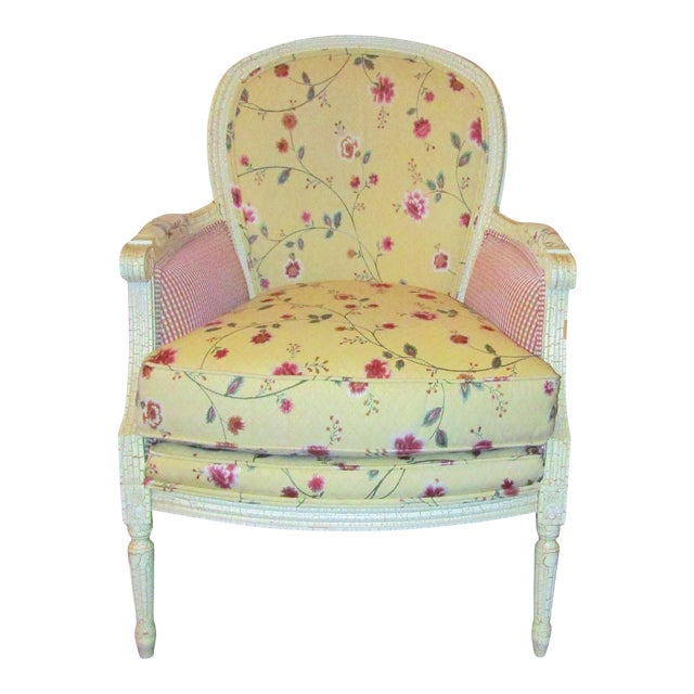 Wesley Hills Floral Upholstered Side Chair - Image 1 of 6