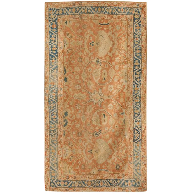 Antique 19th Century Persian Sultanabad Rug For Sale