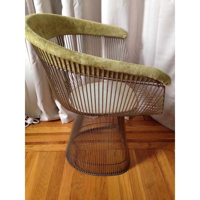 Hollywood Regency Knoll Warren Platner Chair For Sale - Image 3 of 10