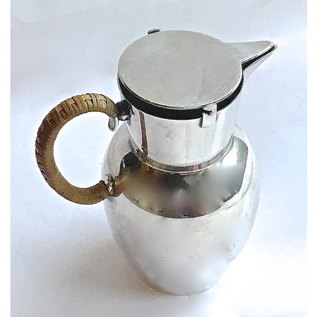 Mid-Century Modern WMF German Silverplated Pitcher For Sale - Image 4 of 9