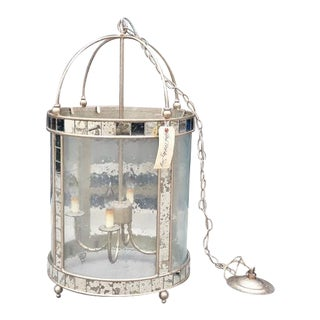 Large Currey and Company Corsica Lantern For Sale
