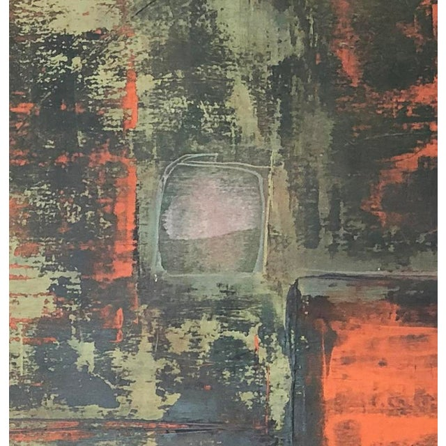 """Abstract """"Static 219"""" Abstract Painting For Sale - Image 3 of 5"""