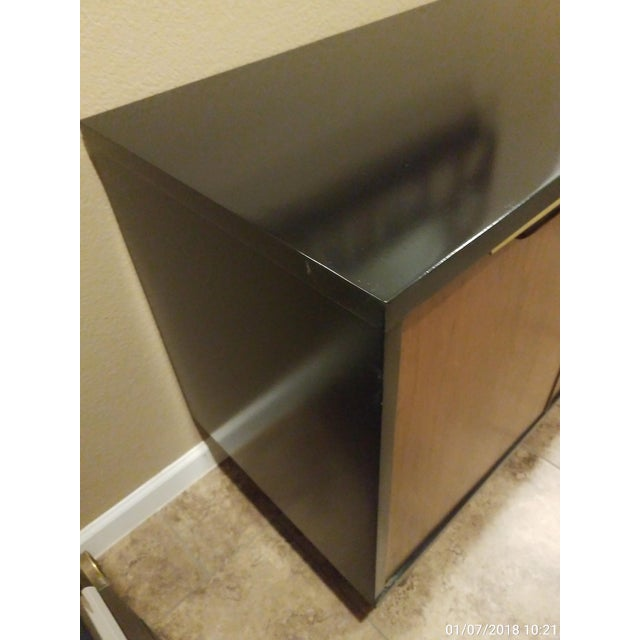 Kent Coffey, the Tableau Collection Walnut Nightstand or Media Cabinet - Image 4 of 6