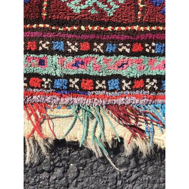 """This is a 1'9""""x2'5"""" Very Old Vintage Turkish Saddlebag Pillow"""