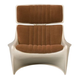 Lounge Chair and Ottoman by Steen Ostergaard, Meteor for Cado For Sale