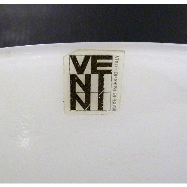1960s 1960s Vintage Sergio Asti for Venini, Murano Mid Century Modern Cased White Glass Vessel For Sale - Image 5 of 13