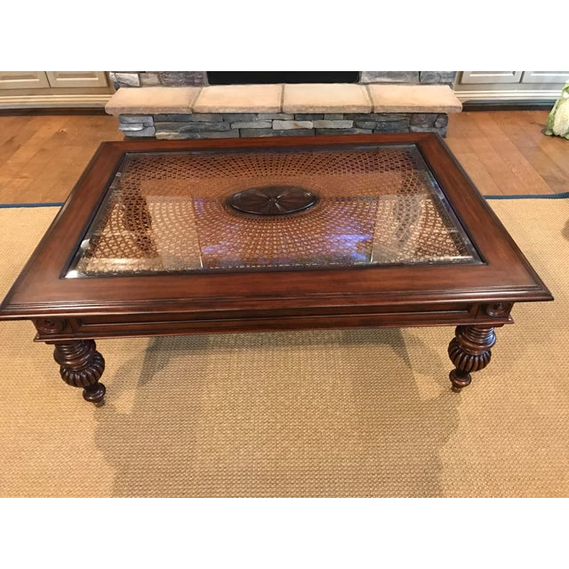 Ethan Allen British Colonial Coffee Table Image 3 Of 4