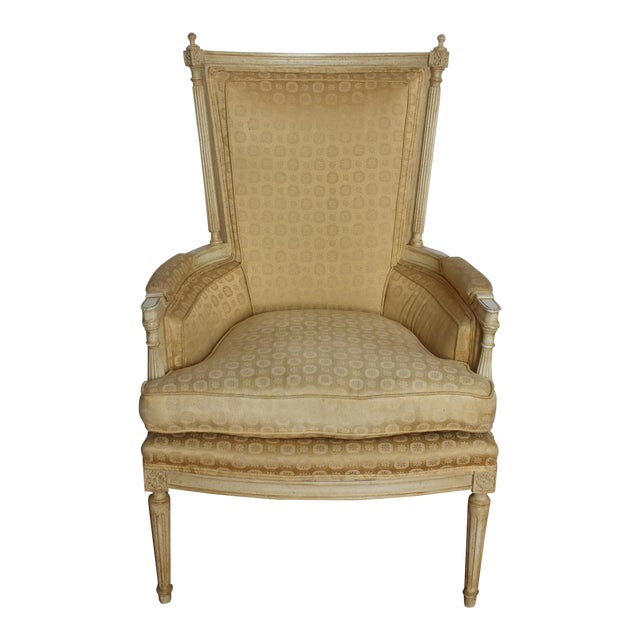 French Directoire Louis XVI Fauteuil - Image 1 of 11