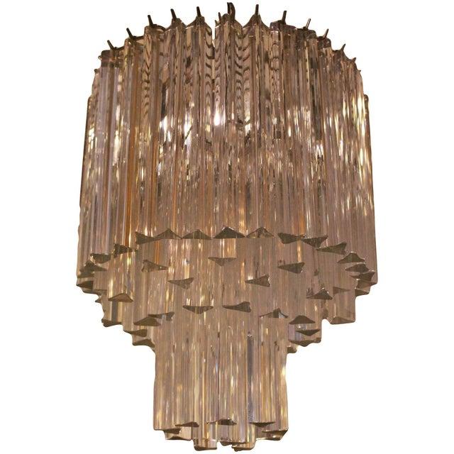 1960s Murano Venini Chandelier For Sale - Image 9 of 9