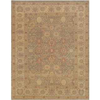 """Mansour Fine Handwoven Agra Rug - 8'2"""" X 10'5"""" For Sale"""